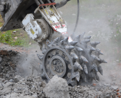 drum cutter for trenching