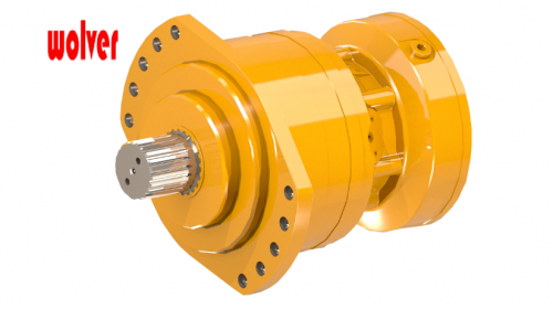 BMS/BMSE 05 Low speed high torque poclain hydraulic motor